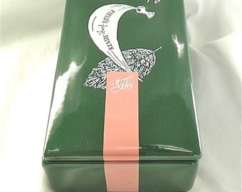 Vintage Marshall Fields and Co. Frango Mints Lidded Dish