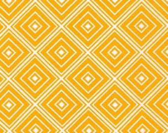Five (5) Yards- Metro Living Diamond Robert Kaufman Fabrics SRK-15082-129 Marigold