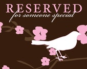 Reserved listing for Marie