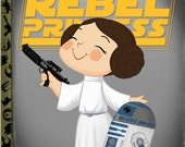 The Little Rebel Princess - 8x10 PRINT