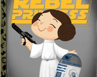 The Little Rebel Princess - 8x10 PRINT