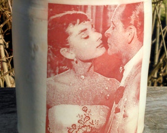Audrey Hepburn Mug handmade decorative