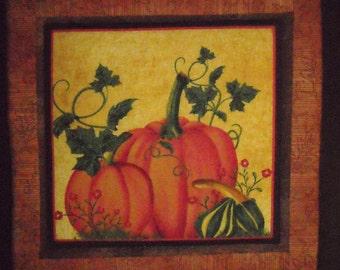 Pot Holder/Trivet - Pumpkins