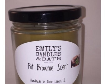 10 Ounce SOY Candle Pot Brownies
