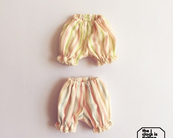 Striped Bloomers for Blythe