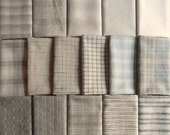 Japanese Taupe fabrics - 64 fat eighths RESERVED for imeone