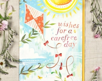 Carefree Day - Greeting Card