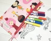 NEW - Color me wallet with washable markers - Color, wash, repeat  - Career gifl