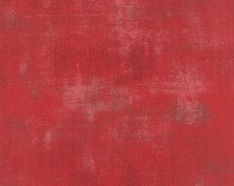 Grunge Basics in Cherry by Basic Grey for Moda Fabrics 1/2 Yard