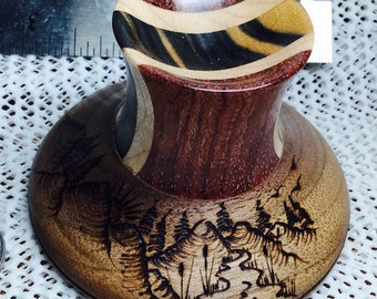Support Spindle Bowl, WOODLAND by Mingo and Asho