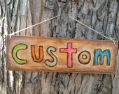 CUSTOM woodburn for efmoyer80 (Ellen) ONLY!