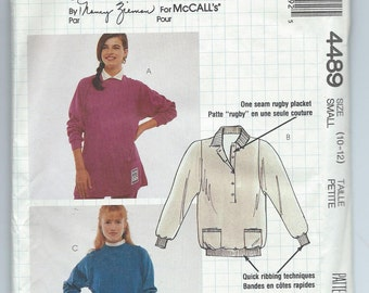 McCall's 4489 - Busy Woman's Pattern by Nancy Zieman - Misses' Tops - Size Small - Uncut Vintage Pattern