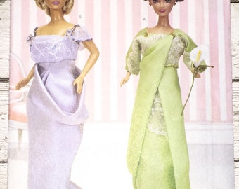 """Butterick 3057 Delineator Girls Doll Clothes 11-1/2"""" Sewing Pattern Barbie UNCUT"""