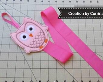 Owl - Owl Bow Holder - Hair Clip holder - Hair bow holder - Clippie Holder - Hair Clip Holder  - Clip Keeper