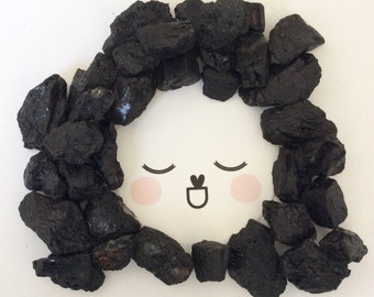 black tourmaline LITTLE gurus crystals for kids