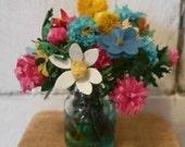 Doll House Floral Arrangment