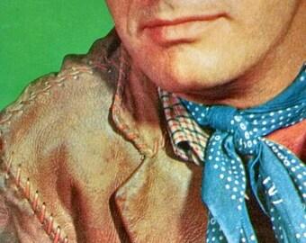 Vintage John Lupton Cowboy Lined Notebook