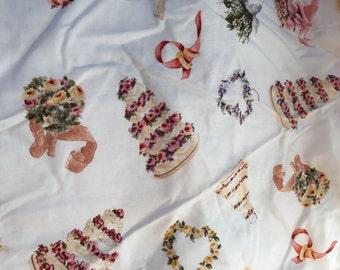 Wedding Day Scrap Fabric