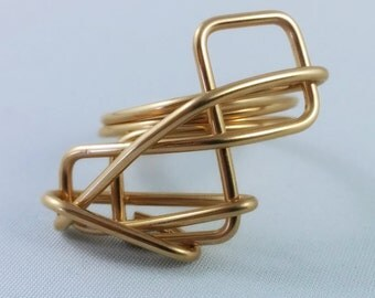 Wired Rings Series - 14kt Gold Filled - GFRG0014