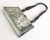 Sherlock Holmes Book Purse - Sherlock Book Cover Handbag - Detective Book Clutch - Steampunk Handbag