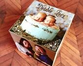 Personalized photo cube photo gift personalized baby gift picture baby gift photo cube personalized baby shower gift baby gifts