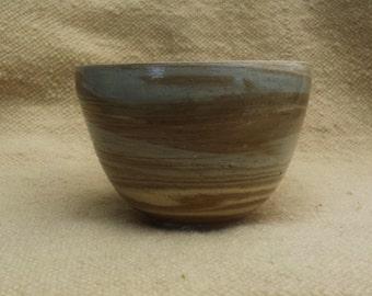 Blue-Brown Bowl 21