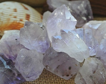 Amethyst Twin Multi Face Points RANDOM PICK // Healing Stones and Crystals // Altar Stone // Rocks and Minerals //  Wicca // Chakra Stones