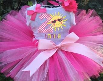 Sunshine Birthday Tutu Set - Sunshine Tutu Outfit