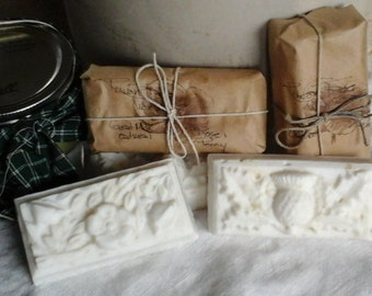 Goat Milk soap, Rose and Peony