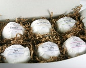 Bath Bomb Gift Set -  Gift for Her - Natural Bath Bombs