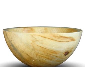 Handmade Box Elder Wood Bowl - Food Safe - Handcrafted