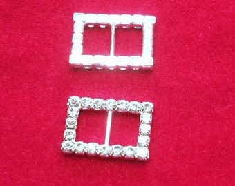 Rectangular Rhinestone Slider