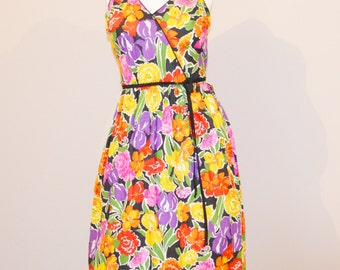 Vintage Sundress Flower Garden Galore