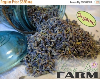 Sale Dried Lavender Flowers 1/2 Pound. Organic Loose French lavender Buds, crafting- sachets, wedding toss. Loose lavender- half pound.