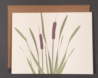 Cattail Single Card