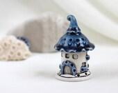 Blueberry Romantic House of tiny fairies - Hand Made Ceramic Eco-Friendly Home Decor by studio Vishnya