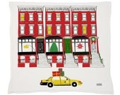Brownstone Holiday Tea Towel