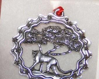 Cheetah Ornament | African Cheetah Ornament | Cheetah Gift