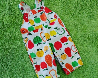 CLEARANCE SALE - Overall in Summer Fruits - 1 Left