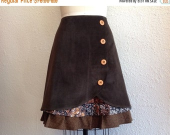 SALE Nina ruffle front skirt Sz 18