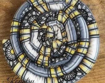 Scented Coaster, Scented Trivet, Scented Mug Mat, Homespun Scented Coaster, Handcrafted,SCENTED TRIVET