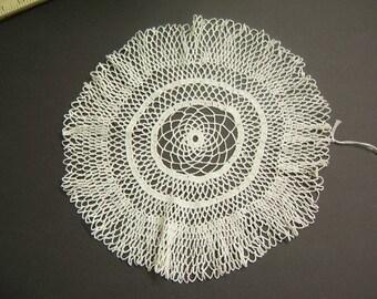 Lacy Vintage Crochet Doily  - 0805