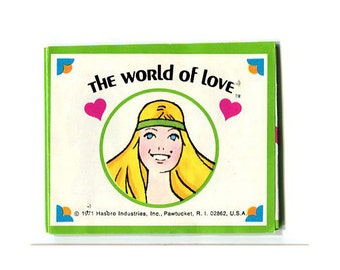 1971 The World of Love doll phamphlet