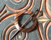 Jul Rosewood Shawl Pin
