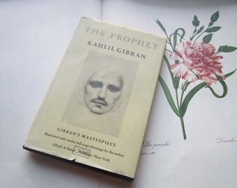 Kahlil Gibran The Prophet * 1997 Hard copy * Spirit * Love * Poetry * Masterpiece * Books and Drawings * illustrations
