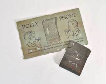 Antique Polly Phone An Early Kazoo Type Whistle