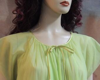 Vanity Fair Shear Green Robe