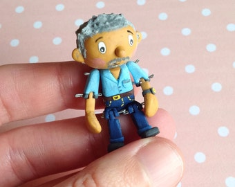 Miniature Articulated Paul Hollywood GBBO