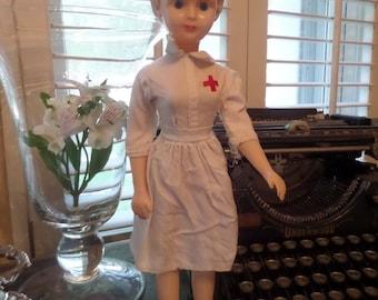 Vintage Nurse Doll 1950's