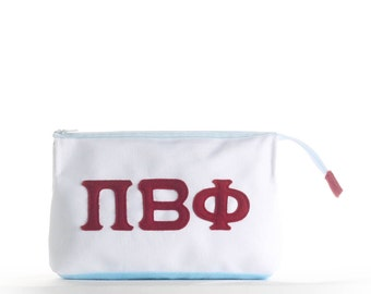 Pi Beta Phi Makeup Case